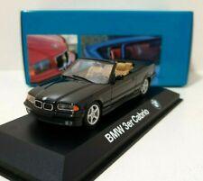 MINICHAMPS 1/43 BMW Série 3 E36 Cabriolet Black / Noir