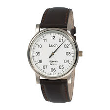 One Hand Luch Mechanical Wristwatch Men's White 337477760. Shipping from the US