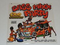 "BASS MIXX PARTY CLUB CLASSICS Lp 12""x2 VARIOUS THE 2 LIVE CREW LUKE DJ LAZ MIAMI"