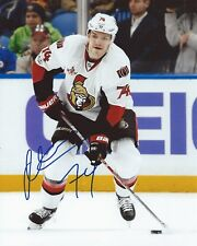 Mark Borowiecki Signed 8x10 Photo Ottawa Senators Autographed COA B