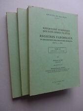 Bas Rhin - Registres paroissiaux et registres des chapitres ruraux, XVIe s.-1792