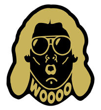 Ric Flair Gold Vinyl Decal WWE WOOO Car, truck, laptop Sticker WWF NWA WCW 3inch