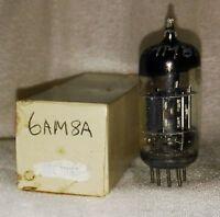 Used-in-box 6AM8A vacuum tube radio TV valve, TESTED