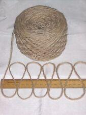 100g BALL MARRONE CHIARO 100% Pura Lana British razza spessa Aran Knitting bbw338