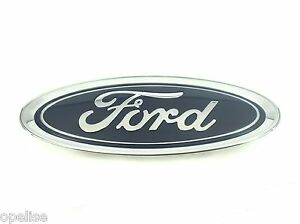 Genuine New FORD FRONT BUMPER BADGE Emblem For Fiesta Mk7 from 2013+ S-Max 2015+