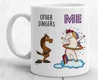 Singer Mug For Singer Gifts For Singer Coffee Mug Funny Singer Cup Best Unicorn