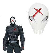 Cool Titans Cosplay Mask Red X Skull Helmet Costume Props Halloween Comics Adult
