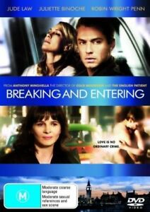 Breaking and Entering - DVD - 2006 Jude Law, Robin Wright, Vera Farmiga - RARE !