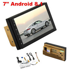 """New listing Quad Core Android 8.1 Car Stereo Gps Navigation Radio Mp5 Player 2Din WiFi 7"""""""