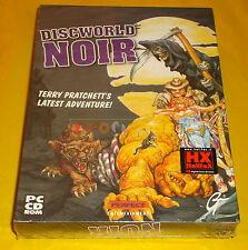 DISCWORLD NOIR Pc Disc World Versione Italiana 1ª Edizione Big Box ○○ NUOVO - CH