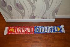 Liverpool v Cardiff City Football Scarf Soccer Bufanda Calcio Sciarpa