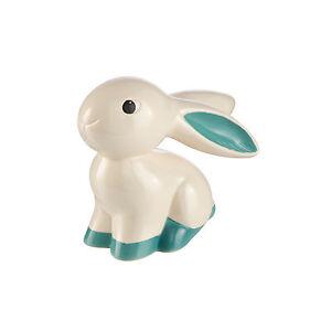 Goebel Turquoise Bunny Bunnie ANGEBOT Bunny de luxe Hase Figur NEU