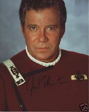 WILLIAM SHATNER - STAR TREK AUTOGRAPH SIGNED PP PHOTO POSTER