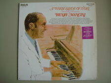 HENRY MANCINI, A WARM SHADE OF IVORY, 1969 VINTAGE LP RECORD, LSP-4140 RCA