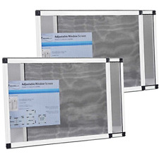 """Fenestrelle Expandable Window Screen, 2 Way Adjustable, Horizontal 15""""h fits or"""