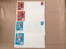 Timbres Poste France 17 Enveloppes Neuves avec Carte France 98