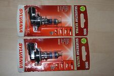 Sylvania Silverstar ULTRA 9006 Pair Set 2 SINGLE Bulbs Headlights NEW
