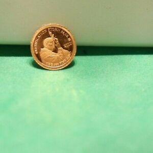 Samoa Gold Coin 2011 $1 Pope John Paul II 1/2 Gram .999