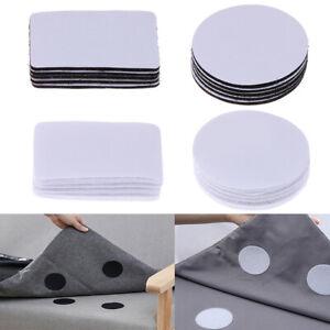 5pairs Carpet Strong Self Adhesive Hook Loop Fastener Nylon Sticker TapeL xa