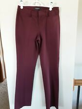 Liverpool Harper Bootcut Burgundy Size 6 Dress Pants