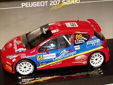 1/18 Peugeot 207 S2000 Rallye de France Alsace 2011 Y. MULLER