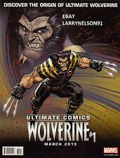 WOLVERINE POSTER ULTIMATE COMICS DEALER EXCLUSIVE MARVEL COMICS UNCANNY X-MEN