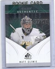 2009/10 UPPER DECK SP GAME USED MATT CLIMIE AUTHENTIC ROOKIES RC /699 138