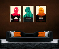 Star Wars Return Of The Jedi Empire Strikes Trilogy Large Posters Set A4 A3 A2