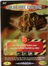 DR WHO INVADER RARE 547 SOLAR FUEL EJECTION