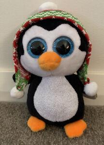 Christmas Beanie Boo Penguin Penelope