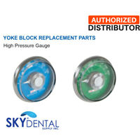 Belmed High Pressure Gauge Oxygen O2 - Nitrous Oxide N2O Yoke Replacement Part