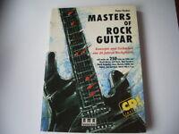 Masters Of Rock Guitar-Konzepte und Techniken aus 40Jahren inkl. CD