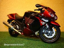 1:12 Kawasaki ZX 14 ( ZZR 1400 ) Rot Schwarz 2009 / 00173