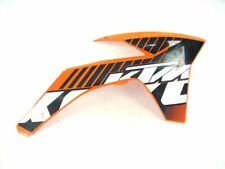 FIANCHETTO RADIATORE DX KTM SX F EXC 125 200 250 350 450 SIDE Panel CARENA