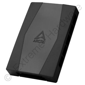 Arctic Case Fan Hub 10 Port 3-Pin & 4-Pin PWM Fan Hub with SATA Power Input