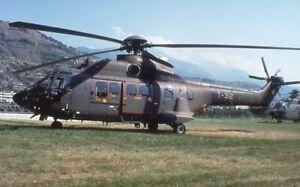 Original aircraft slide SwissA/F Puma T-312