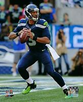 """Russell Wilson Seattle Seahawks NFL Action Photo (8"""" x 10"""")"""