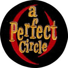 "Patch - A Perfect Circle Logo La Rock Alt Metal Maynard Keenan 3"" Iron On 19114"