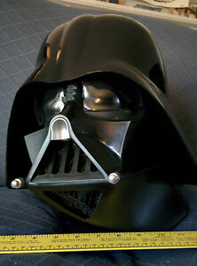 cosplay Darth Vader Helmet Rubie's Collector Edition full scale LARGE! two-piece