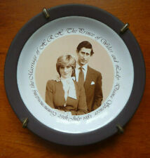 Prince Charles & Diana Spencer - Hornsea Pottery commemorative plate (July 1981)