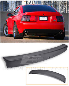 For 99-04 Ford Mustang CBR Style Rear Trunk Wing Spoiler - Opening for Key Hole