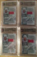 4 NICKLAS LIDSTROM 2012/13 IN THE GAME 1/19 2/19 3/19 6/19 JERSEY & AUTO CARDS