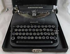 REMINGTON RAND Model 5 Deluxe 1941 Typewriter with Case B1399328