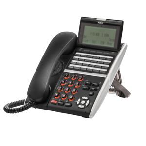 NEC DTZ-24D-3 BK TEL Phone 650004 DZV(XD)W-3Y Black 1 YEAR WARRANTY Refurbished