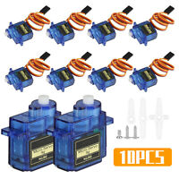 10X 9G SG90 Mini Micro Servo Motor Set for RC Robot Helicopter Airplane Car Boat