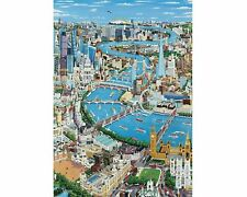 Wentworth Wooden Jigsaw Puzzle - London the Thames 40 Pieces NEW
