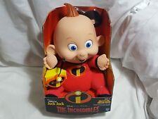 NEW (Read) The Incredibles Jabberin' Jack Jack Toy Doll Figure Talking Jabbering