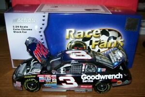 DALE EARNHARDT SR #3 DAYTONA WIN 1998 1/24 ACTION DIECAST COLOR CHROME 5004 MADE