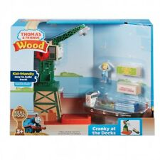 Thomas & Friends Wood- Wooden Railway Cranky at the Docks inc Bulstrode The Boat