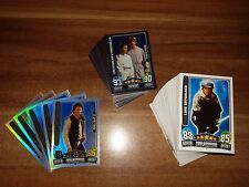 Star Wars Trading Cards Movie Serie 3 83 Basis Glanz Force LE Karten
